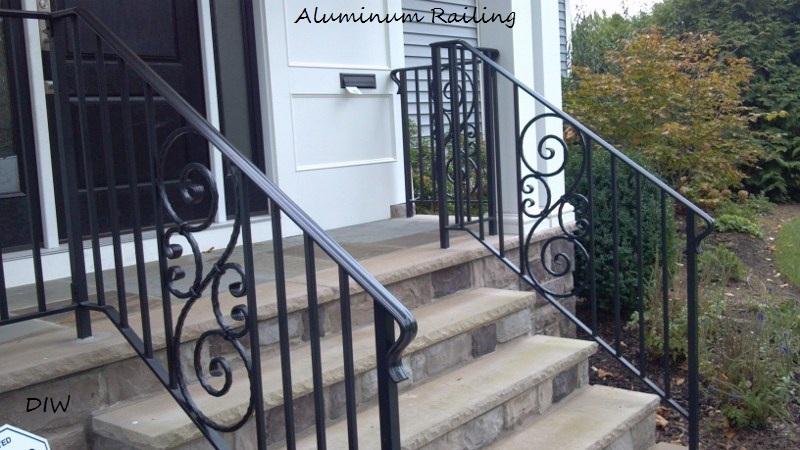 decorative aluminum railing.  black aluminum 800x450 jpg